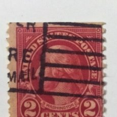 Sellos: SELLO DE ESTADOS UNIDOS 2 C - 1925 - WASHINGTON - USADO SIN SEÑAL DE FIJASELLOS. Lote 269977223