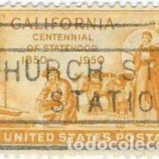 Sellos: SELLO USADO EEUU. YVERT Nº 548. CENT. DEL ESTADO DE CALIFORNIA EN LA UNIÓN. 2EEUU-548U. Lote 270903488