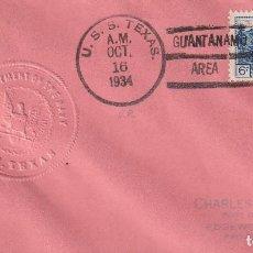 Timbres: NEW YORK 1934 GUANTANAMO - SELLO SECO - NAVY. Lote 274313208
