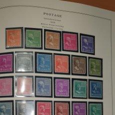 Sellos: HOJA 33 SELLOS USA 1938. Lote 276945023