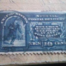 Sellos: 1885-1893 CORREO URGENTE. 10 CENTAVOS DOLAR. Lote 278874578