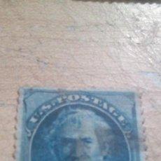Sellos: SELLO DE 5C AZUL ZACHARY TAYLOR, 1784-1850. Lote 278876148