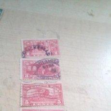 Sellos: LOTE DE 6 SELLOS PARA PAQUETES POSTALES DE 1913 DE ESTADOS UNIDOS. Lote 279375373