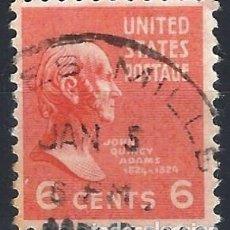 Sellos: ESTADOS UNIDOS / USA 1938 - PRESIDENTES - USADO. Lote 283318918