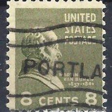 Sellos: ESTADOS UNIDOS / USA 1938 - PRESIDENTES - USADO. Lote 283319193