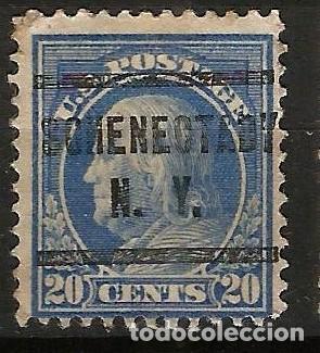 EEUU - BENJAMIN FRANKLIN - 1914 - 20C - NEW YORK (Sellos - Extranjero - América - Estados Unidos)
