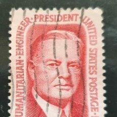 Sellos: MICHEL US 885 - ESTADOS UNIDOS - PRESIDENT HERBERT CLARK HOOVER, (1874-1964) - 1965. Lote 288597593