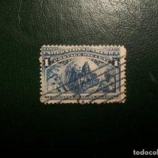 Sellos: /28.09/-ESTADOS UNIDOS-1893-1 C. Y&T 81 EN USADO/º/. Lote 289992878