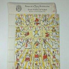 Sellos: VIÑETAS ANTITUBERCULOSOS EL VENDRELL 1959. Lote 291891878