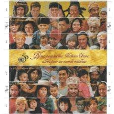 Sellos: SELLOS ONU NUEVA YORK 1995 680/91 NOUS PEUPLES DES NATIONS UNIES 12V.. Lote 295355283