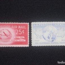Sellos: SELLOS NUEVOS ESTADOS UNIDOS 1949 75 ANIVERSARIO UNION POSTAL UNIVERSAL UPU. Lote 295517703