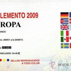 Sellos: EDIFIL. SUPLEMENTO 2009 EUROPA PAPEL BLANCO. Lote 20204946