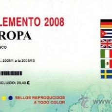 Sellos: EDIFIL. SUPLEMENTO 2008 EUROPA PAPEL BLANCO. Lote 20220715