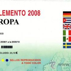 Sellos: EDIFIL. SUPLEMENTO 2008 EUROPA CARNÉS PAPEL BLANCO. Lote 20252011