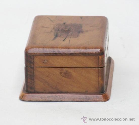 Sellos: Caja de madera en miniatura para sellos. Biedermeier. Alemania 1820-50 - Foto 5 - 32803109