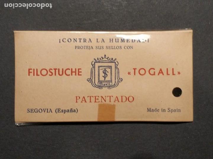 PAQUETE DE FILOESTUCHES TOGALL - NUEVO SIN USAR (Sellos - Material Filatélico - Estuches)
