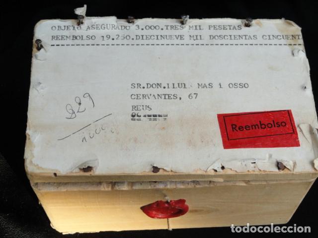 Sellos: CAJA DE MADERA PARA TRANSPORTE DE SELLOS. - Foto 2 - 150679586