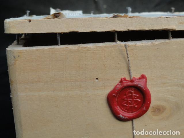 Sellos: CAJA DE MADERA PARA TRANSPORTE DE SELLOS. - Foto 10 - 150679586