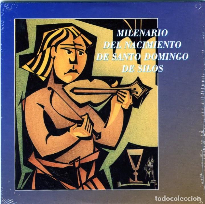 Sellos: CARPETA-ESTUCHE MILENARIO DEL NACIMIENTO DE SANTO DOMINGO DE SILOS-VER FOTOS ADICIONALES . - Foto 10 - 155824338