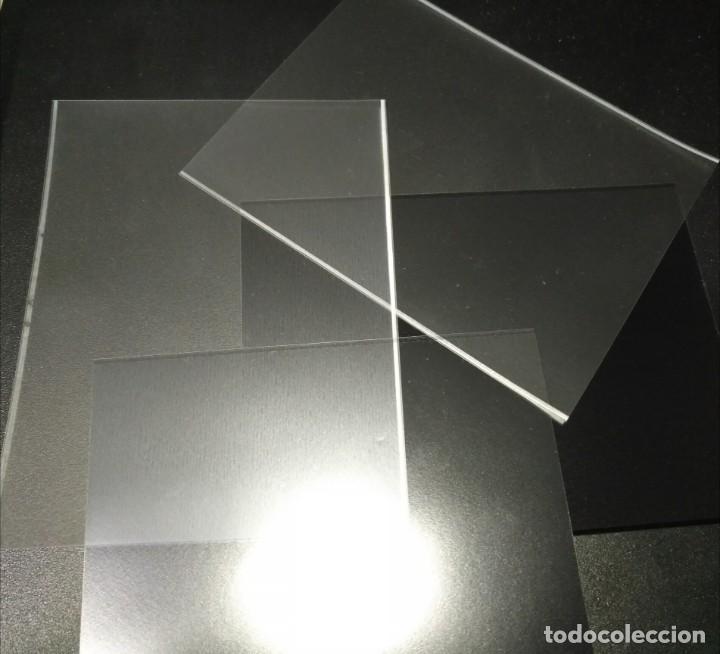PROTECTORES PRINZ 137X106D (10 UNID.) TRANSPARENTE O NEGRO (Sellos - Material Filatélico - Estuches)