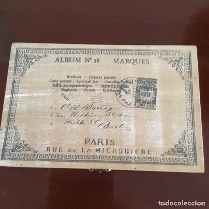 Sellos: Caja de madera para sellos vintage holandesa - Foto 3 - 201313685
