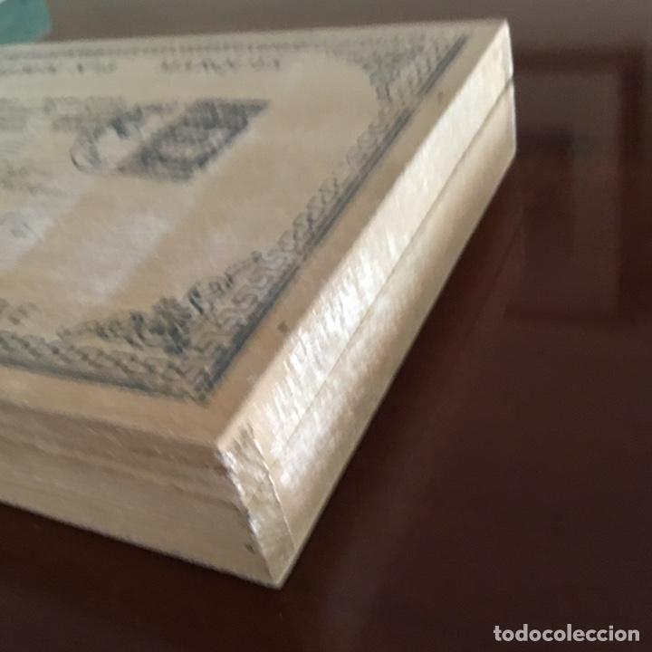 Sellos: Caja de madera para sellos vintage holandesa - Foto 4 - 201313685