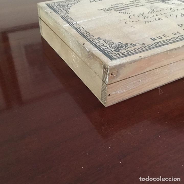 Sellos: Caja de madera para sellos vintage holandesa - Foto 5 - 201313685