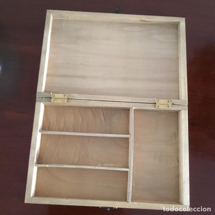 Sellos: Caja de madera para sellos vintage holandesa - Foto 6 - 201313685