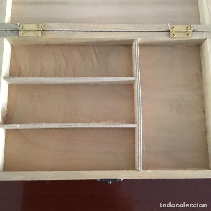 Sellos: Caja de madera para sellos vintage holandesa - Foto 7 - 201313685