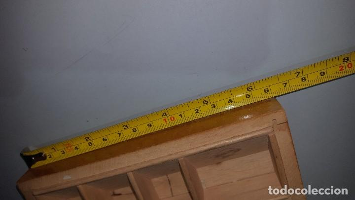 Sellos: Antigua Caja para Guardar Sellos - Madera - Foto 5 - 202638142