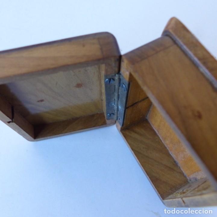 Sellos: Caja de madera en miniatura para sellos. Biedermeier. Alemania 1820-50 - Foto 7 - 32803109