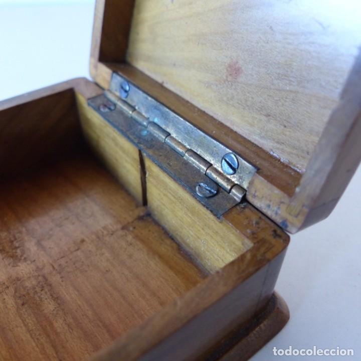 Sellos: Caja de madera en miniatura para sellos. Biedermeier. Alemania 1820-50 - Foto 8 - 32803109