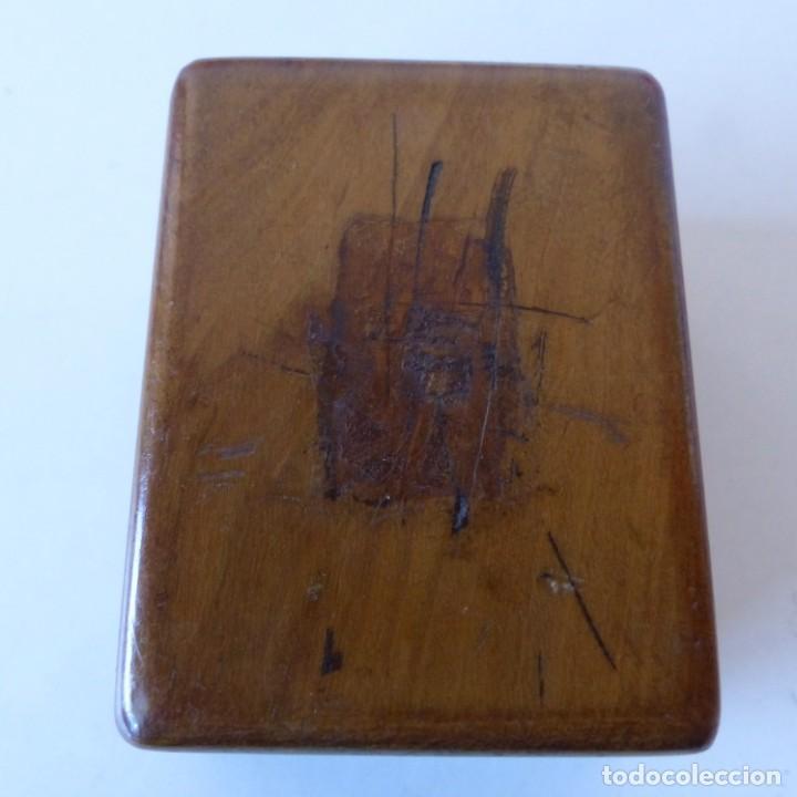 Sellos: Caja de madera en miniatura para sellos. Biedermeier. Alemania 1820-50 - Foto 11 - 32803109