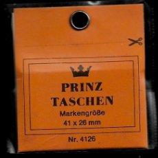 Sellos: 25 FILOESTUCHES - 41 X 26 - FONDO NEGRO - PRINZ. Lote 211486901