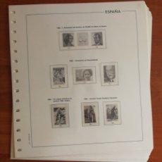 Sellos: HOJAS EDIFIL ESPAÑA 1988 USADAS (FOTOGRAFÍA REAL). Lote 212106516