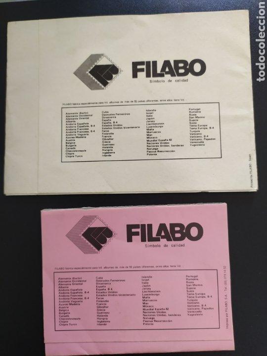 Sellos: Material filatélico Filabo España - Foto 2 - 219028513