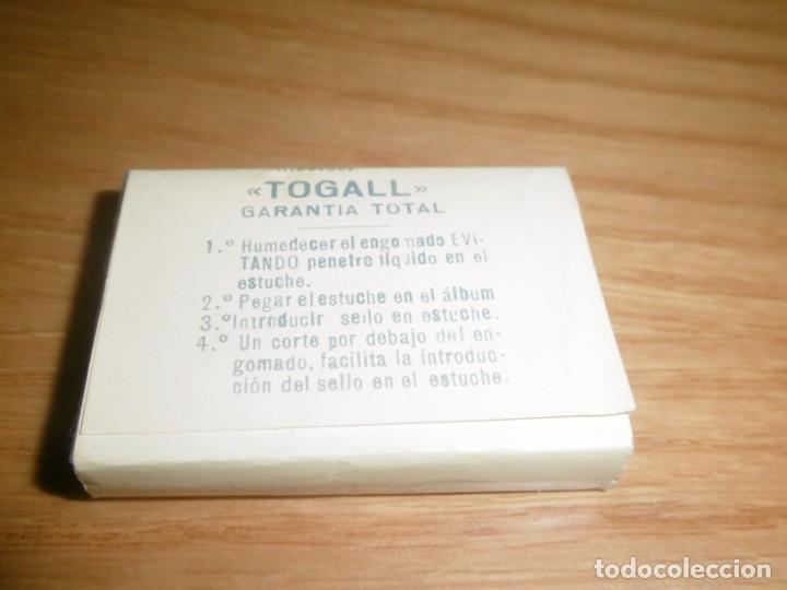 Sellos: Paquete de Filoestuches Filostuc Togall R 10 Ptas Duque de Lerma - Foto 3 - 220114950