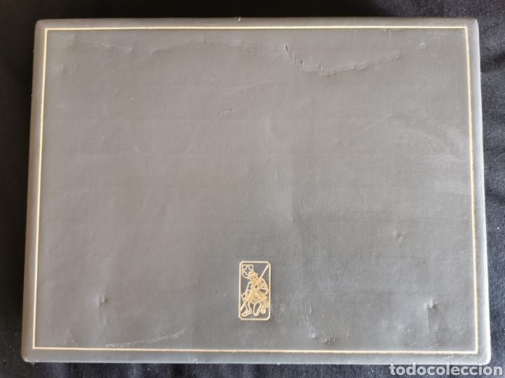 Sellos: Estuche colección militaria. Vacío. Sin llave. Buen estado. 254x333x59mm. 1082g - Foto 5 - 222664415