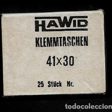 Timbres: PAQUETE DE 25 FILOESTUCHES - HAWID - 41 X 30. Lote 223392897
