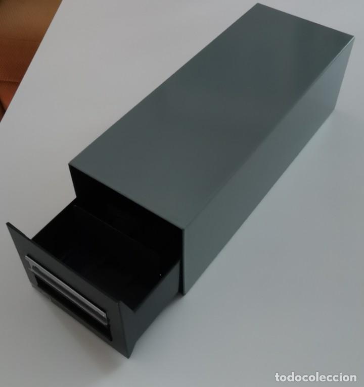 Sellos: Fichero / Archivador Metálico - TRIUNFO DEX (Modelo: MALLABIA) - Foto 2 - 235258985