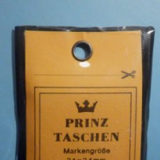 Sellos: FILOESTUCHES - 34 X 34 MM - 25 UNIDADES - FONDO NEGRO - PRINZ TASCHEN - WEST GERMANY. Lote 249603385