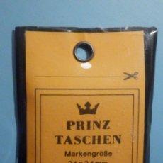 Sellos: FILOESTUCHES - 34 X 34 MM - 25 UNIDADES - FONDO NEGRO - PRINZ TASCHEN - WEST GERMANY. Lote 249603585