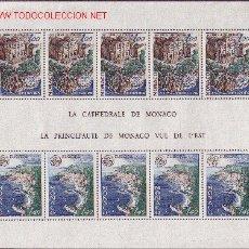 Sellos: MÓNACO HB 14*** - AÑO 1978 - EUROPA - MONUMENTOS. Lote 22132158
