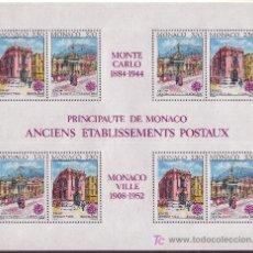 Stamps - MÓNACO HB 49*** - AÑO 1990 - EUROPA - EDIFICIOS POSTALES - 24726057