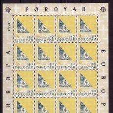 Sellos: FEROE MP 37/38*** - AÑO 1979 - EUROPA. Lote 7352998