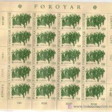 Sellos: FEROE MP 57/58*** - AÑO 1981 - EUROPA - FOLKLORE. Lote 13980120