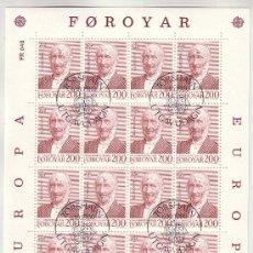 Sellos: FEROE MP 47/48 - AÑO 1980 - EUROPA - PERSONAJES. Lote 4634741