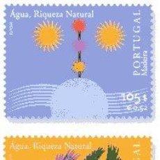 Stamps - Portugal/Açores/Madeira. Europa-Cept. El agua: riqueza natural (3)**. 2001 - 4650922