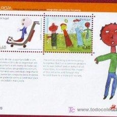 Sellos: PORTUGAL. HB EUROPA-CEPT: INTEGRACIÓN**. 2006. Lote 4661045
