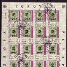 Sellos: FEROE MP 37/38 - AÑO 1979 - EUROPA. Lote 4790280